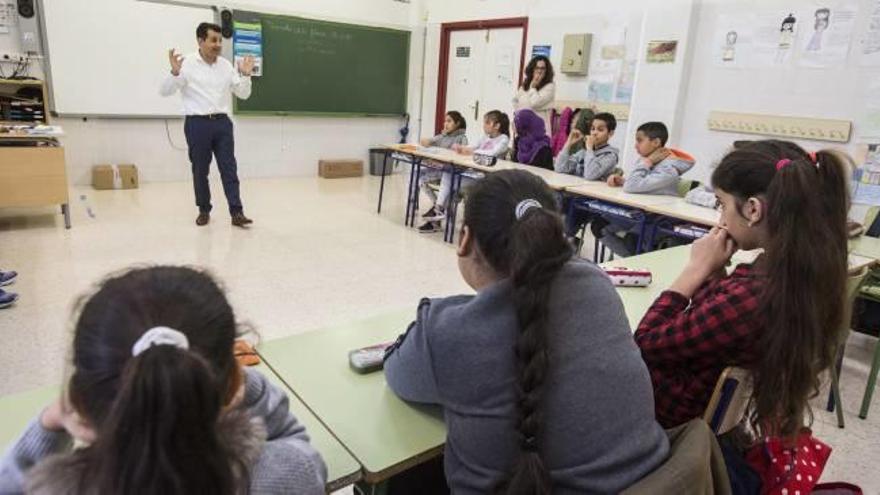 Taller de educación financiera en CEIP Santísima Faz