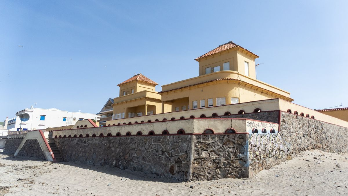Casa que será derribada por Costas en Cabo de Palos
