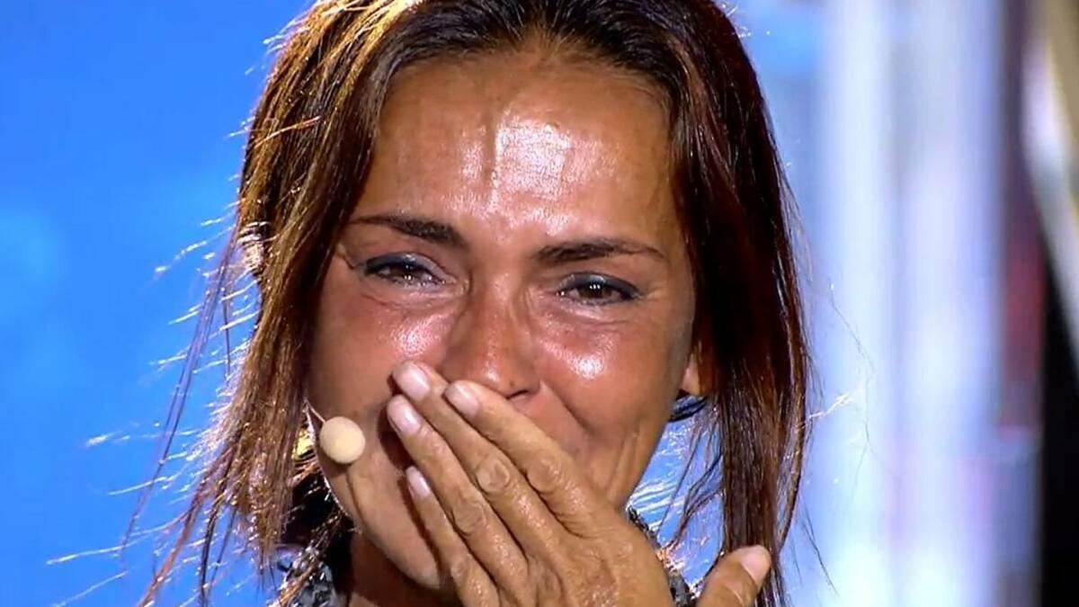 Olga Moreno en la final de Supervivientes 2021