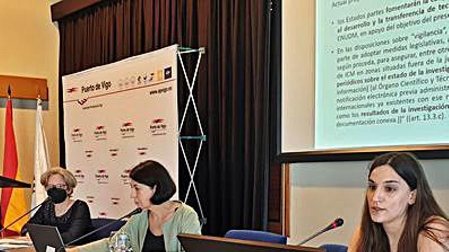 Almuiña destaca el liderazgo del puerto de Vigo en sostenibilidad