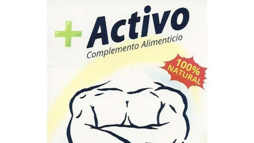 Sanidad ordena la retirada del producto +ACTIVO cápsula