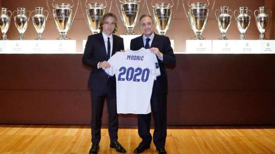 El problema de Modric en el vestuario del Madrid