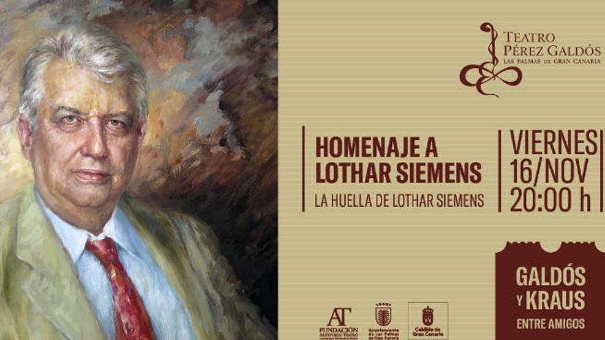 Gran concierto-homenaje a Lothar Siemens en el Galdós