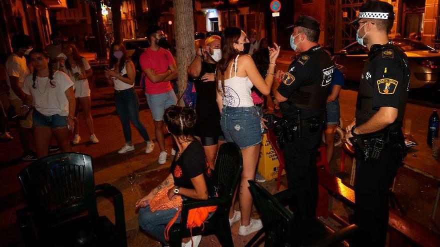 35 quejas y un botellazo durante el primer fin de semana de fiestas en Vila-real