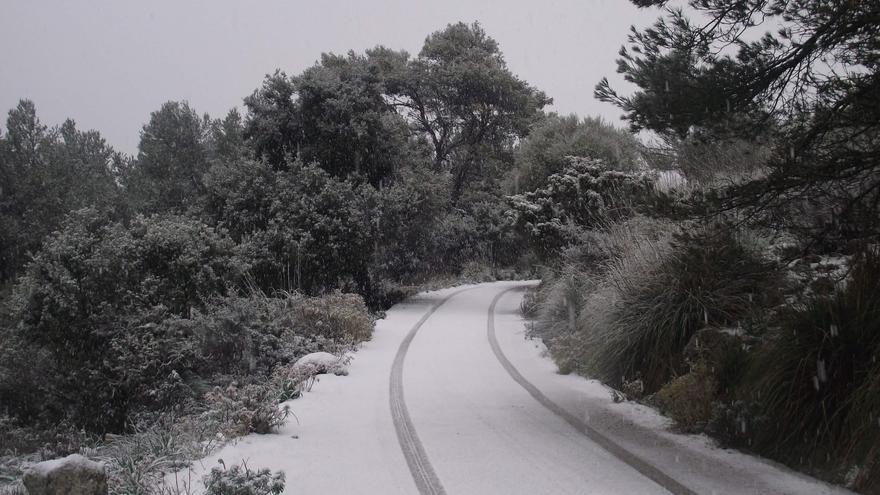 Mallorca registra temperaturas mínimas de -2 grados