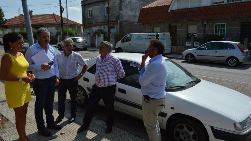 Arranca la mejora integral de la carretera entre Puxeiros y Peinador