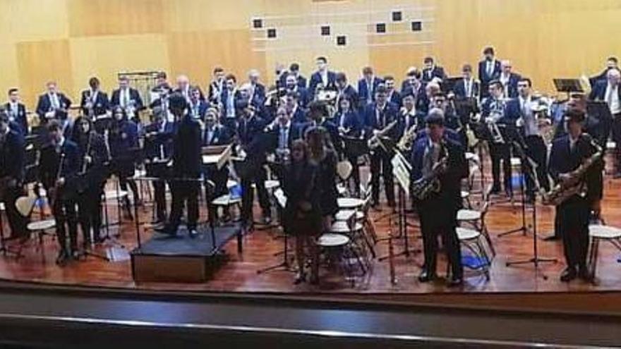 La sinfónica Santa Cecilia de Cullera recupera  los conciertos presenciales