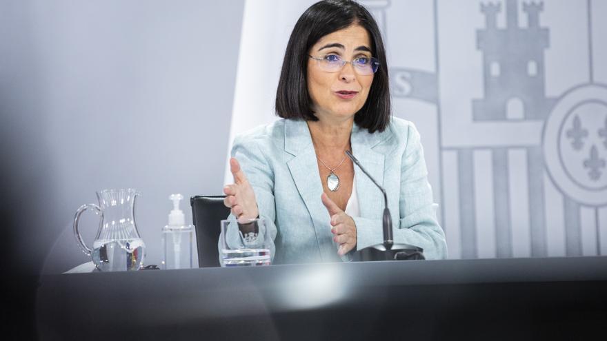"""Darias asegura que España está """"protegida"""" frente a la Covid-19"""