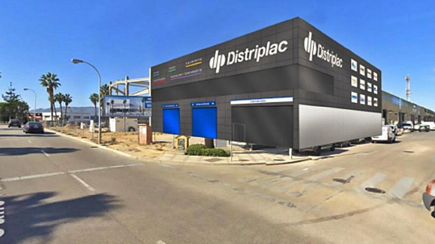 Distriplac amplía sus instalaciones con una nave de 2.700 metros