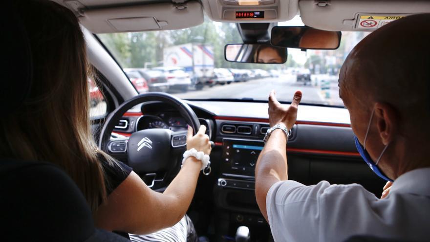 Unos 6.500 extremeños, pendientes del examen práctico de conducir