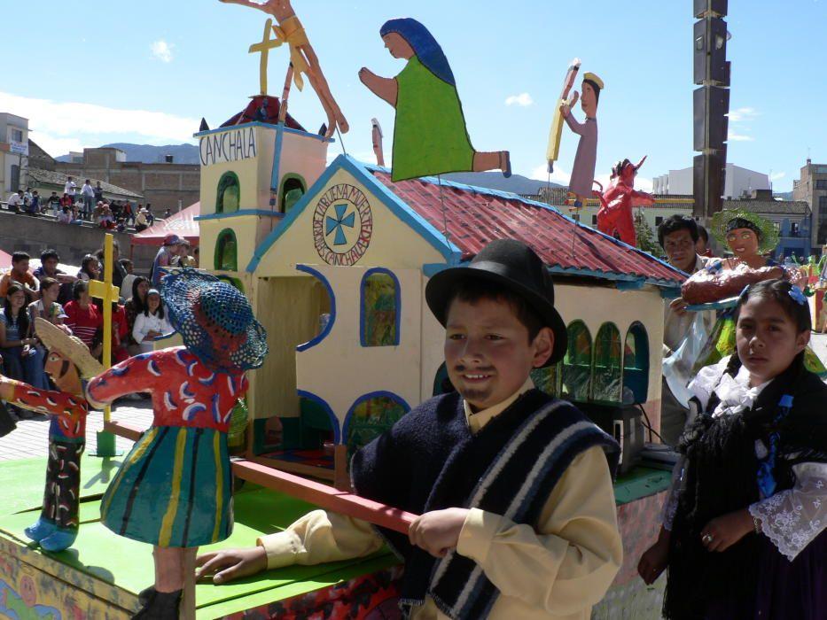 Colombia - El Carnaval de Negros y Blancos de San Juan de Pasto.