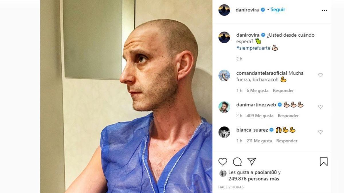 Dani Rovira relata cómo descubrió su cáncer