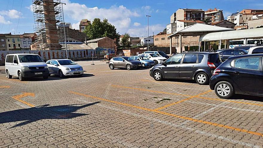 L'aparcament de l'estació recupera places