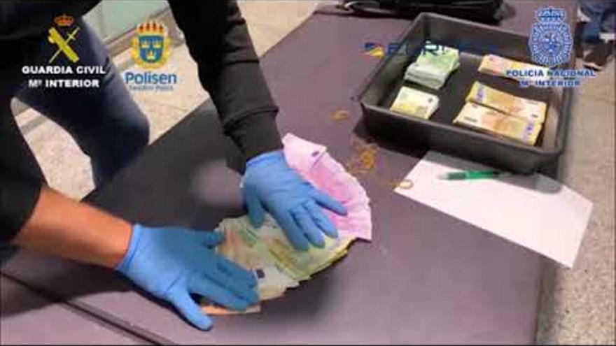 Desarticulada una organización que distribuía grandes cantidades de droga entre la Costa del Sol y Suecia