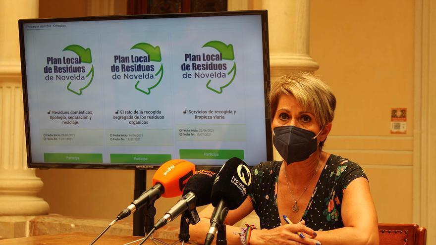 Novelda afronta la fase final de la redacción del Plan Local de Residuos