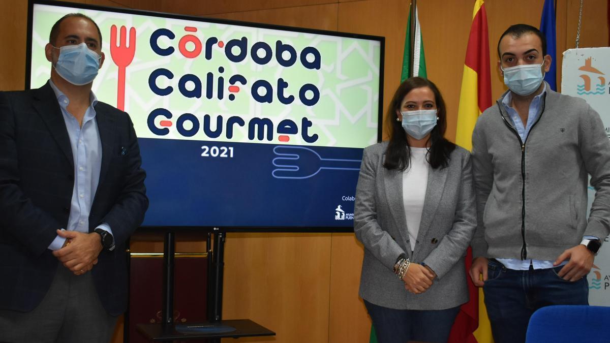 Presentación del Córdoba Califato Gourmet en Puente Genil.