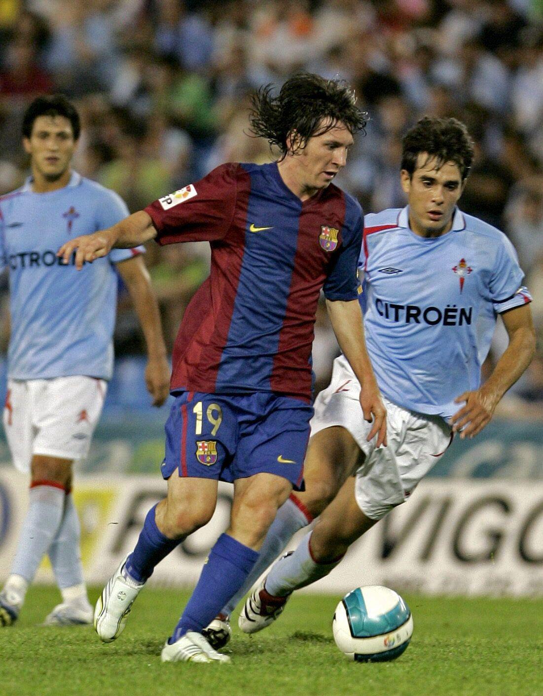 28-8-06 Lavandeira Jr Ante Borja Oubi�a en la primera jornada de Liga en bala�dos, donde anot� su primer gol ante el Celta.jpg