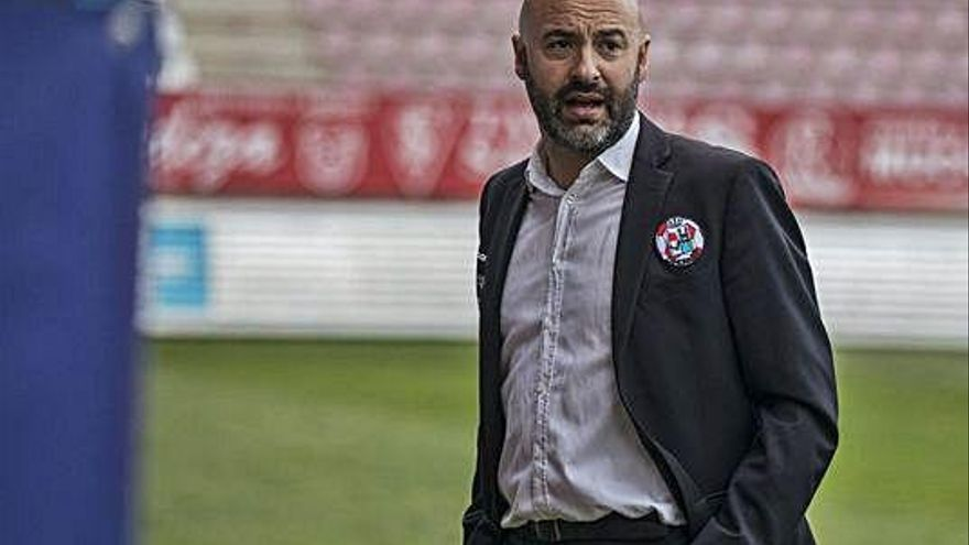 David Movilla, entrenador del Zamora CF.