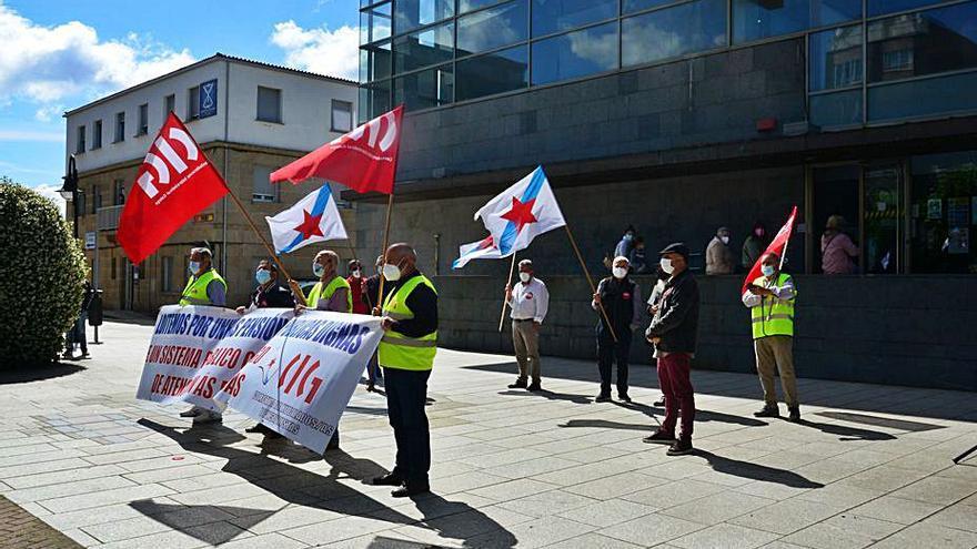 Jubilados de O Morrazo, siempre solidarios