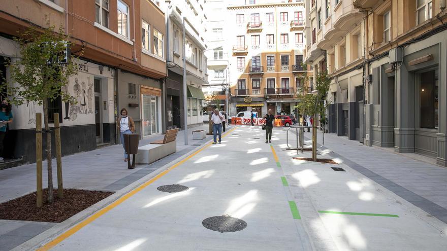 Reapertura de la calle Pintor Joaquín Vaamonde