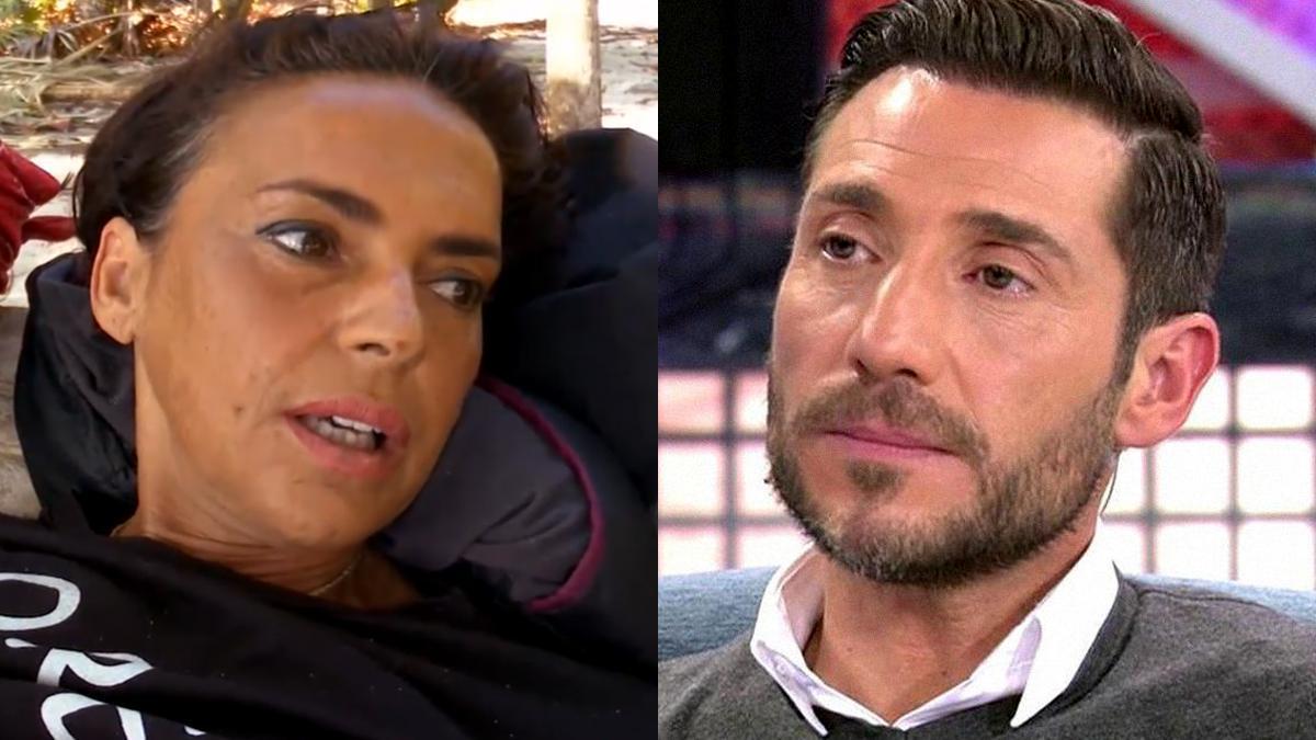 Olga Moreno y Antonio David Flores.