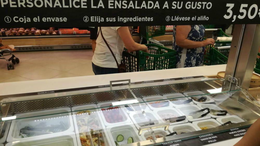 La nova secció de menjar per emportar de Mercadona