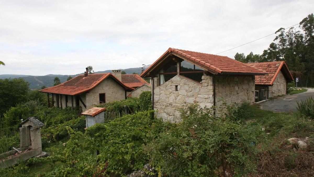 Casas de alojamiento rural.