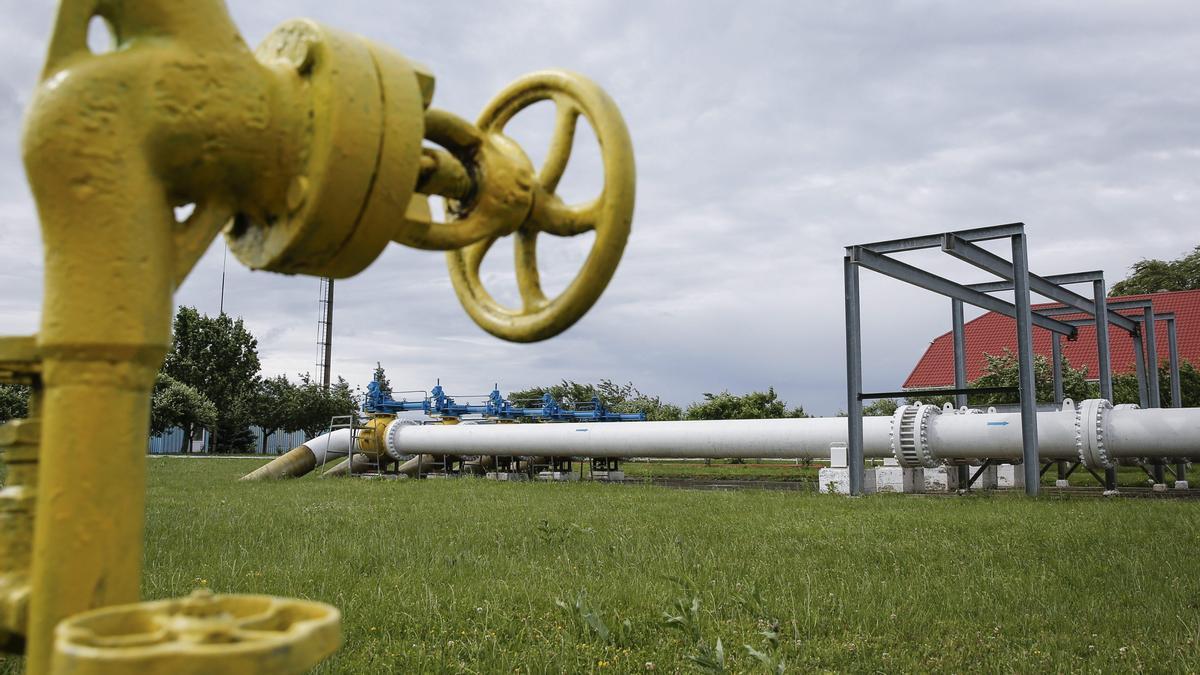 Imagen de archivo de un gasoducto