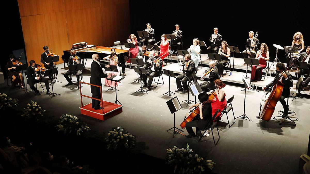 La Orquesta Sinfónica Mercadante. | Ángel González
