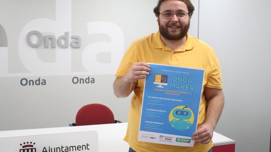 Onda ofrece a los jóvenes talleres de creación de videojuegos, robótica e impresión 3D