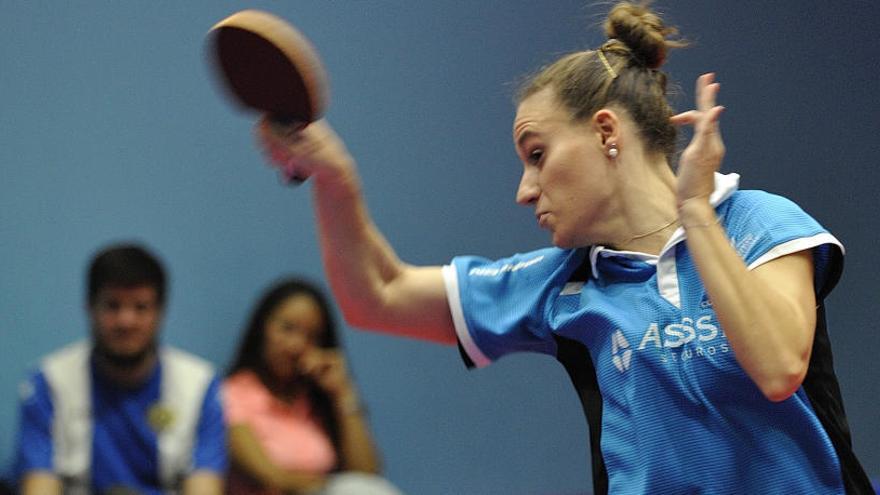 La alicantina Marina Ñíguez, campeona de España en dobles de tenis de mesa