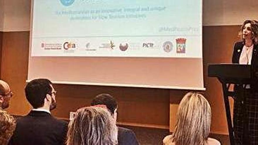 La Generalitat porta a Igualada  un nou projecte de turisme tranquil