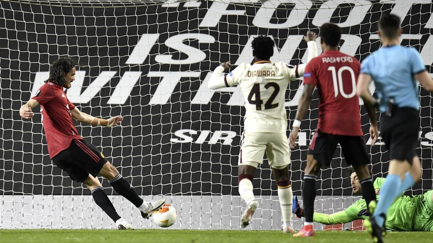 El Manchester United hunde a la Roma y pone rumbo a Polonia