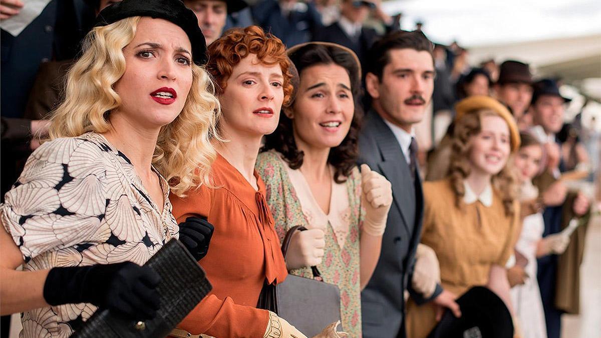Una imagen de la última temporada de 'Las chicas del cable'.
