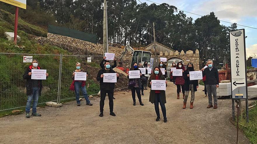 La polémica musealización de A Subidá llega al Parlamento gallego y al Congreso