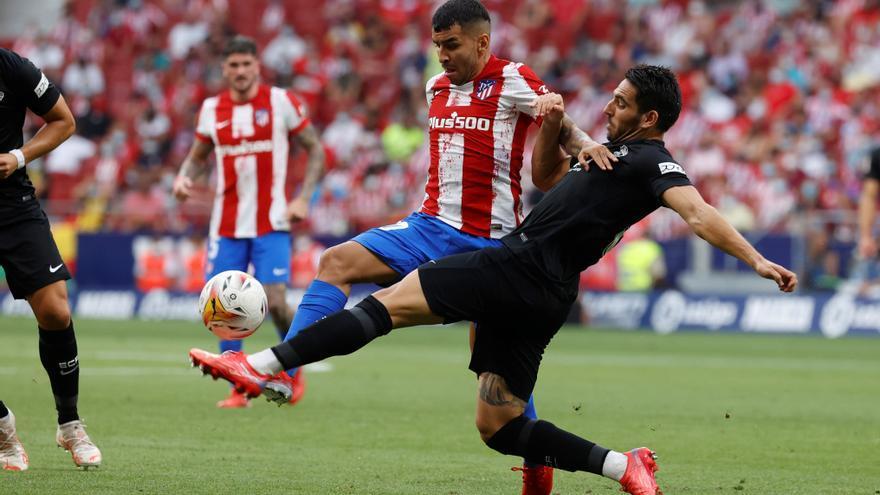 Atlético de Madrid - Elche, en imágenes
