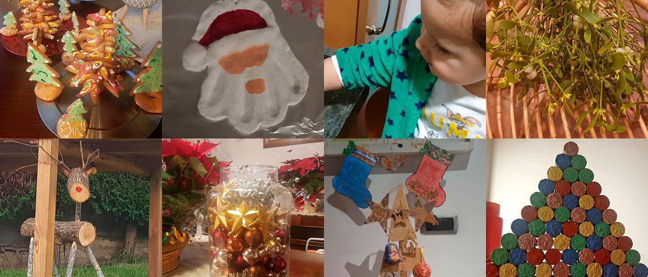 La decoración navideña que sale del horno, de la bodega o de la leñera
