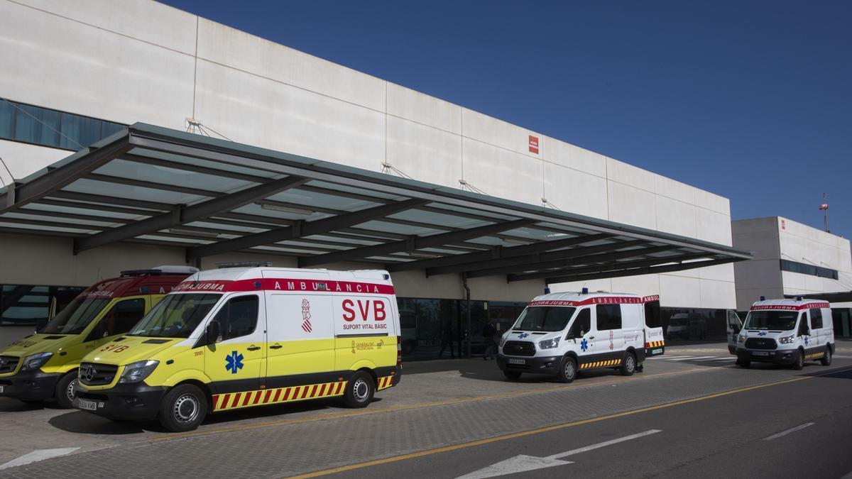 Imagen del Hospital La fe donde fueron trasladados los heridos