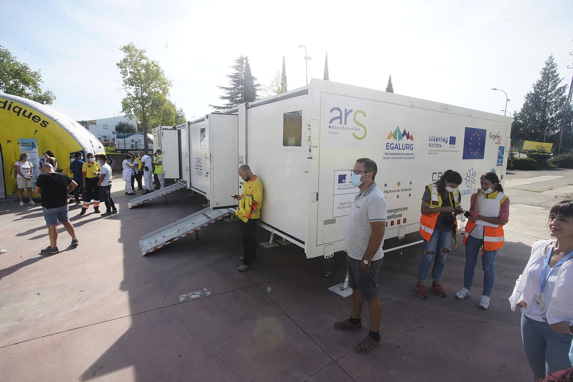 Girona està en un projecte internacional per millorar l'atenció mèdica als Pirineus