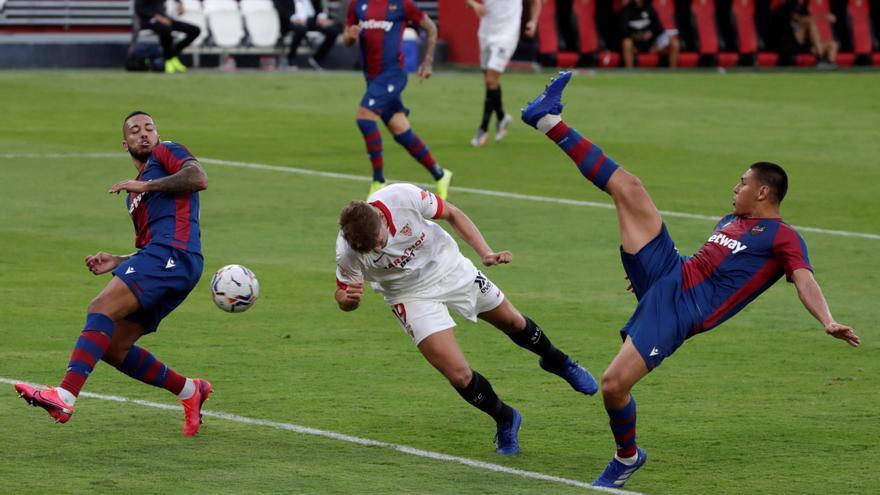 Un gol en el 92' da la victoria al Sevilla