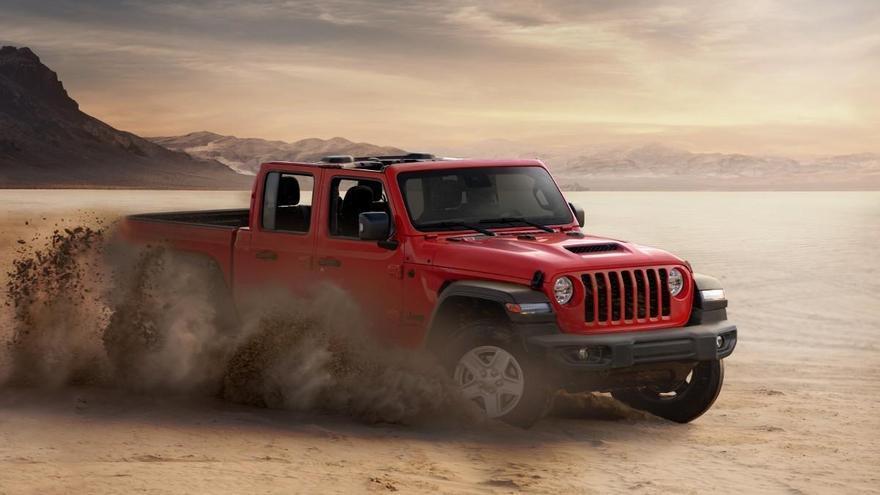 Jeep Gladiator, la versión pick-up del Wrangler