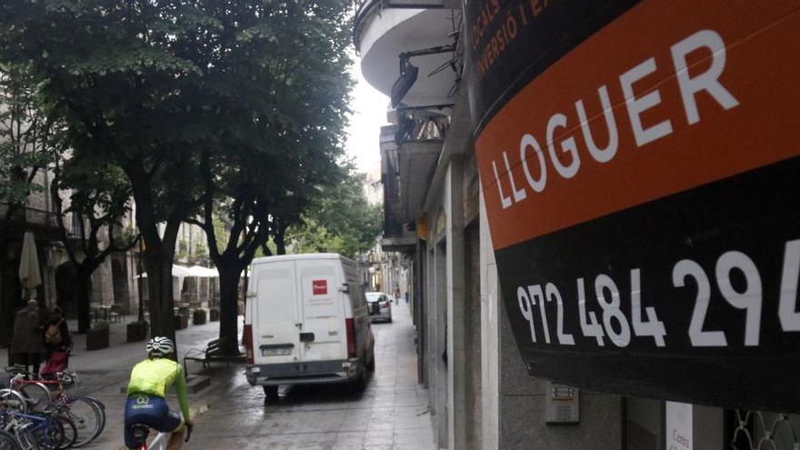El comerç de Girona superarà la pandèmia més aviat que el d'altres grans ciutats