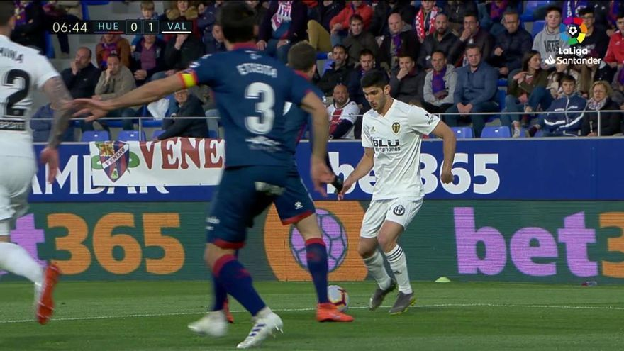 El Valencia firma una goleada de escándalo que envía al Huesca a Segunda