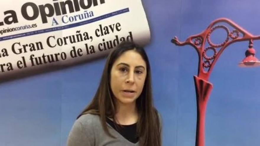 Marta Brañas, la 'Potrilla' de Arteixo, en LA OPINIÓN