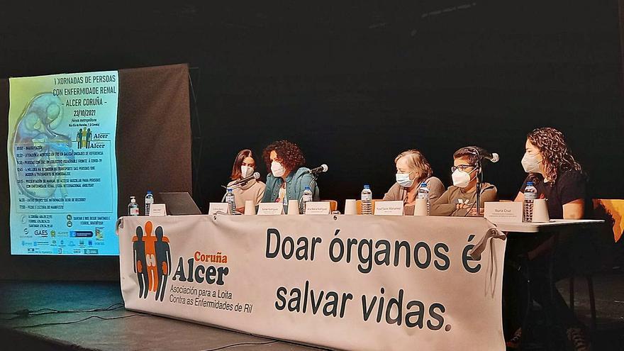 Encuentro de pacientes con enfermedad renal en A Coruña