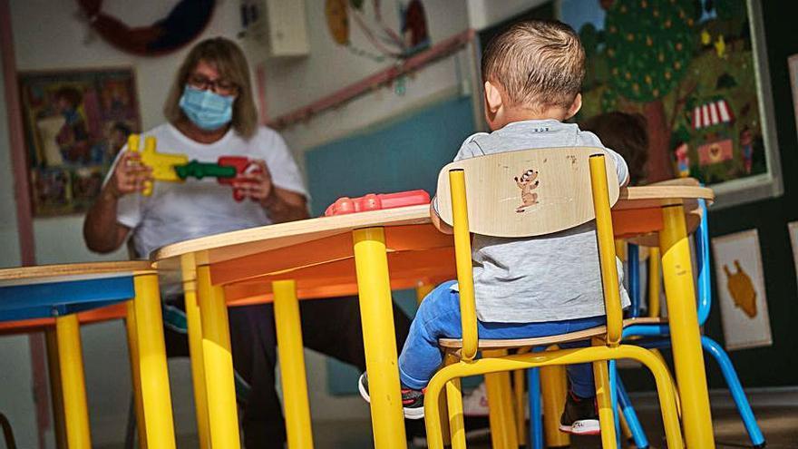Canarias debe crear 8.000 plazas de Infantil para estar en la media del país
