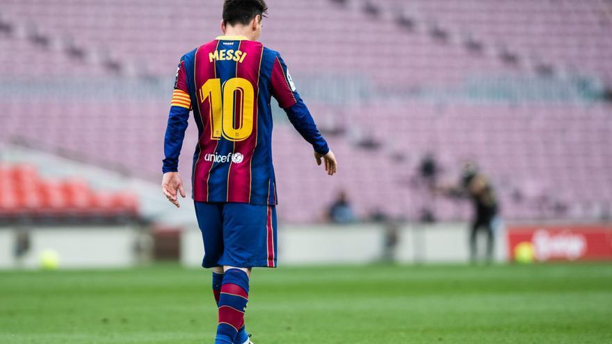 Messi parlarà en roda de premsa aquest diumenge a Barcelona