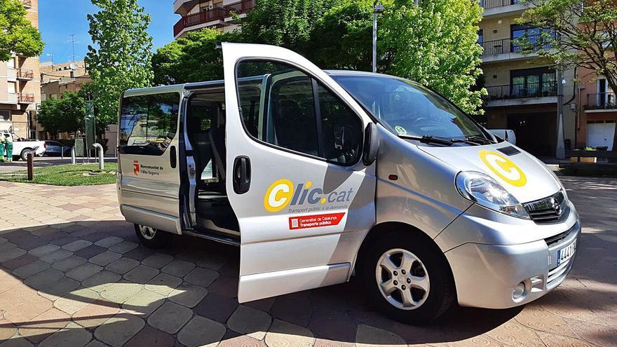 El nou transport a demanda de l'Alta Segarra s'acosta als 200 usuaris