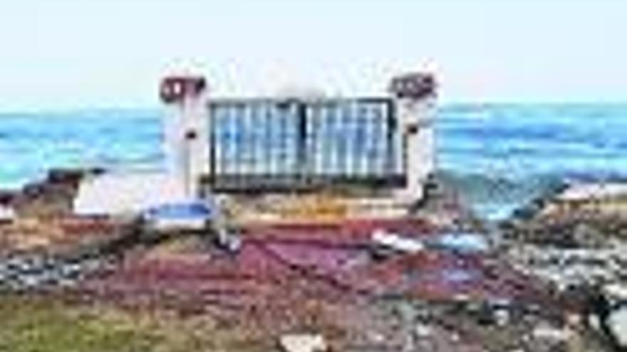 La costa de la Marina, arrasada por Gloria