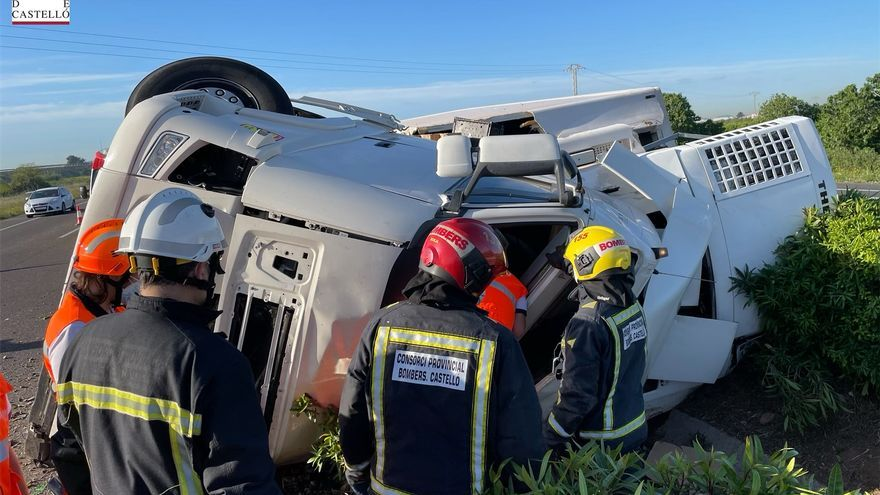 Fallece el camionero accidentado en Les Alqueries